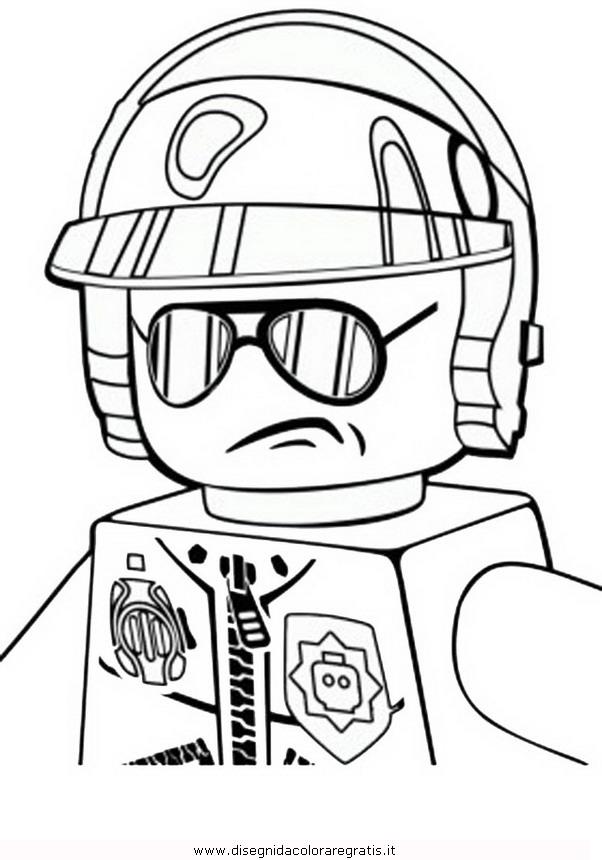 Disegno lego emmet personaggio cartone animato da colorare