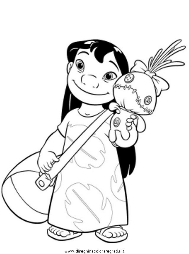 Disegno Lilo Stitch 57 Personaggio Cartone Animato Da Colorare