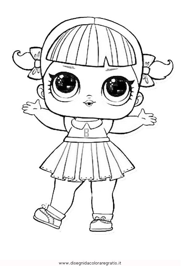 Disegno Lol Surprise5 Personaggio Cartone Animato Da Colorare