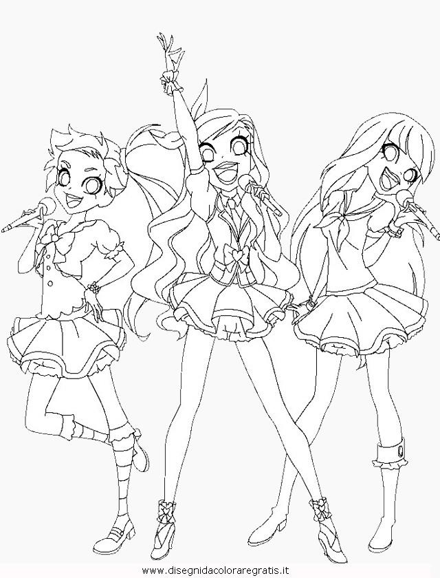 Disegno Lolirock 3 Personaggio Cartone Animato Da Colorare