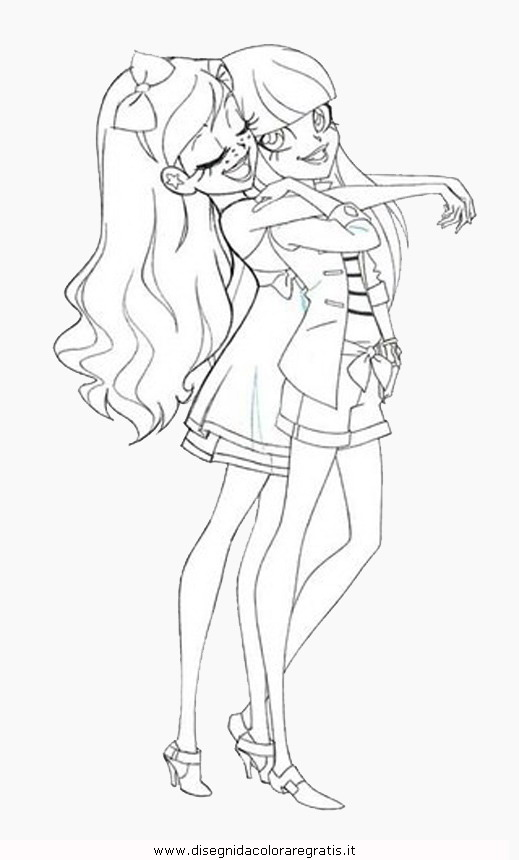 Lolirock Talia Coloring Pages Sketch Page