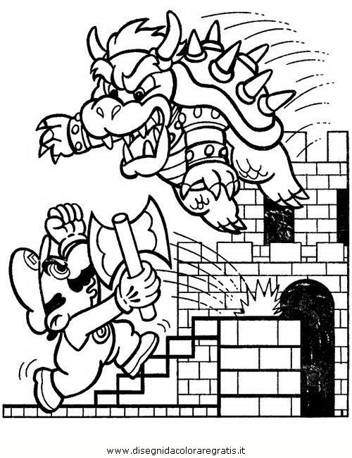 Disegno Mariobros35 Personaggio Cartone Animato Da Colorare