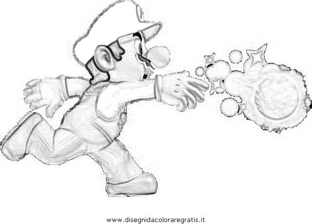 Disegno super mario ghiaccio personaggio cartone animato