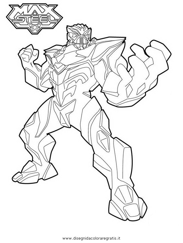 coloring pages max steel - photo#20