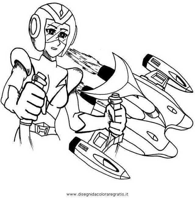 Disegno goldrake venusia personaggio cartone animato da