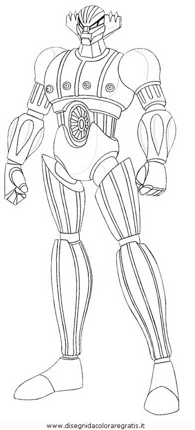 Disegno kotetsushin jeeg personaggio cartone animato da