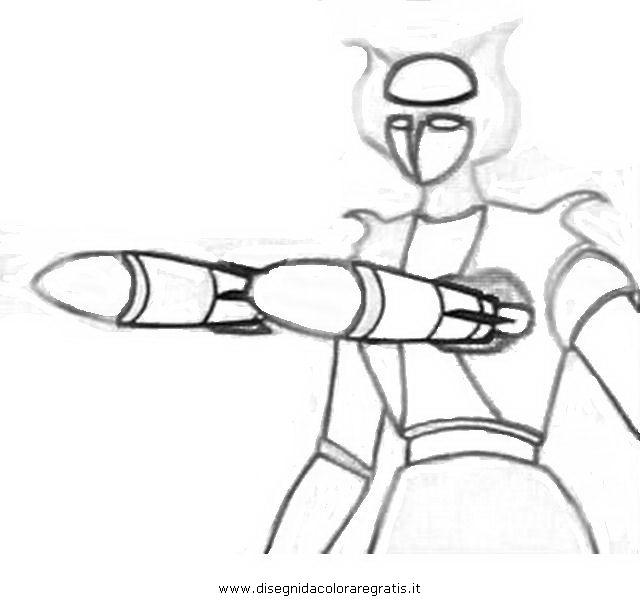 Disegno mazinga afrodite personaggio cartone animato da