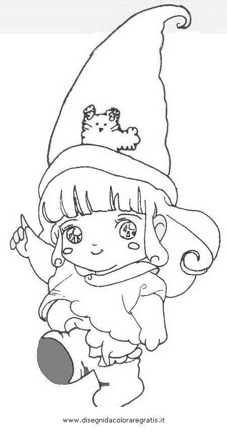 Disegno memole personaggio cartone animato da colorare