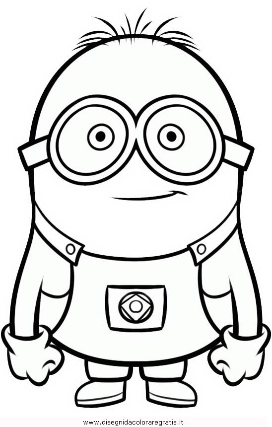 Disegno Minions 25 Personaggio Cartone Animato Da Colorare
