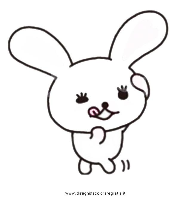 Disegno mofy personaggio cartone animato da colorare