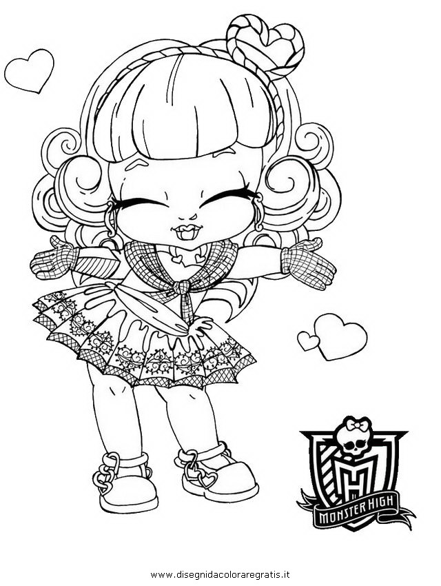 Disegno baby cupid personaggio cartone animato da colorare