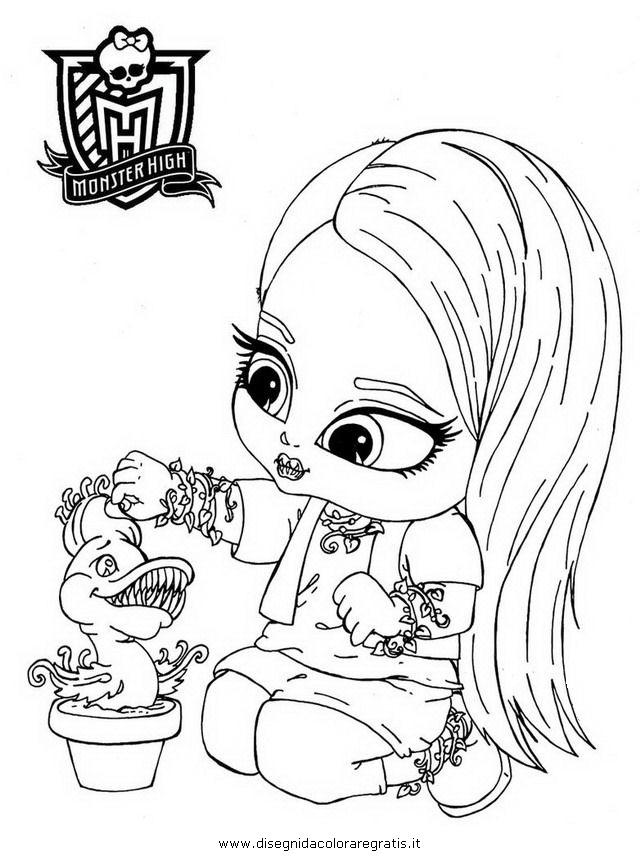 Disegno zbaby venus personaggio cartone animato da colorare