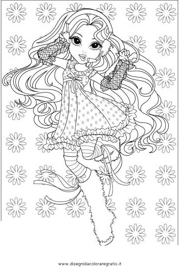 Disegno moxie girlz 19 personaggio cartone animato da - Moxie girlz pagine da colorare ...