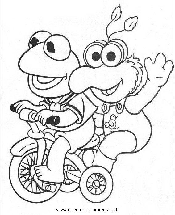 Disegno muppet muppets show personaggio cartone
