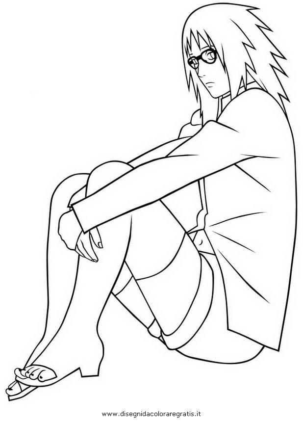 Disegno karin personaggio cartone animato da colorare