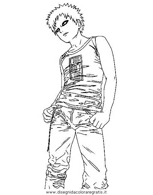 Disegno Naruto 21 Personaggio Cartone Animato Da Colorare