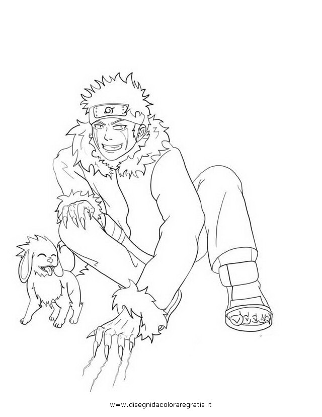 kiba coloring pages - photo#12