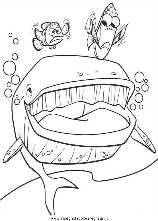Disegno Nemo 53 Personaggio Cartone Animato Da Colorare