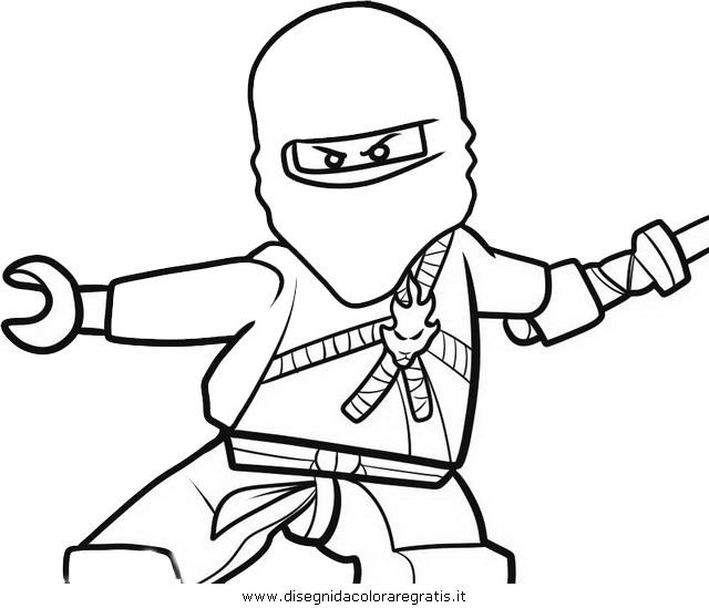 Disegno Ninjago 32 Personaggio Cartone Animato Da Colorare