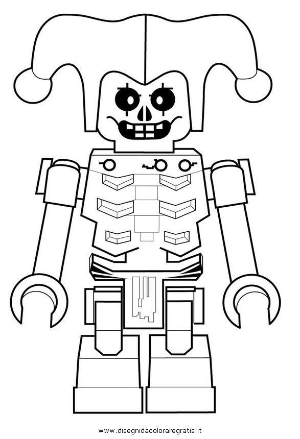 Disegno Ninjago Lego 21 Personaggio Cartone Animato Da