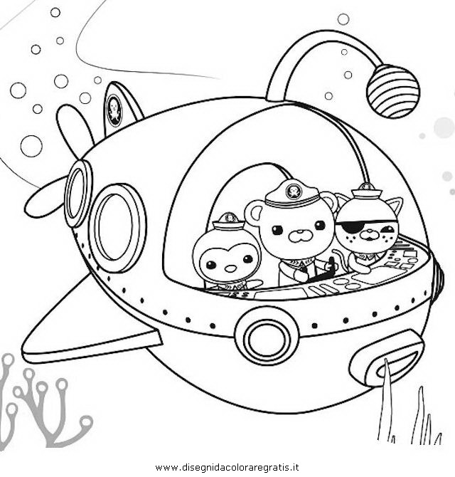 octonauts coloring pages dashi granules - photo#29