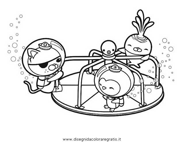 Disegno Octonautsoctonauti08 Personaggio Cartone Animato Da Colorare