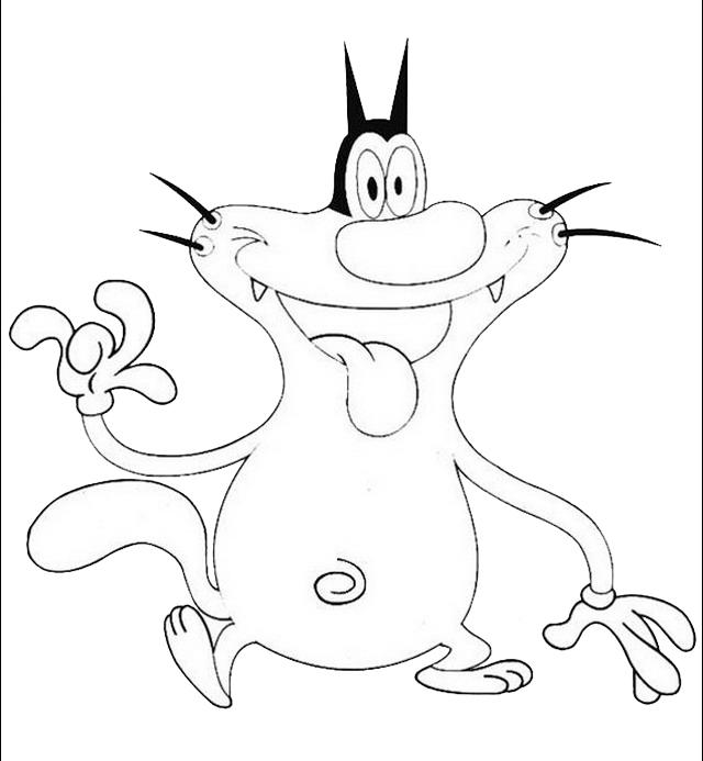 Disegno Oggymaledettiscarafaggi14 Personaggio Cartone Animato Da
