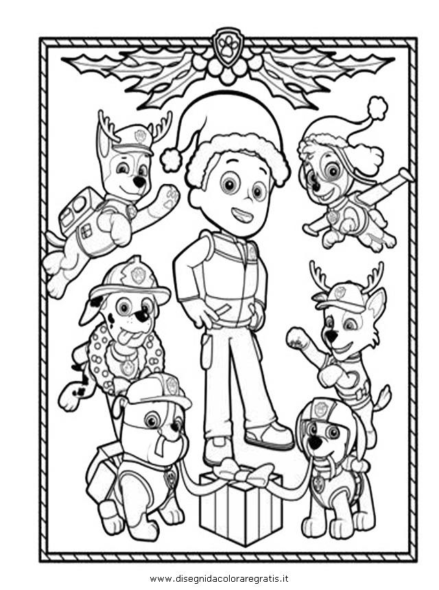 Disegno paw patrol 03 personaggio cartone animato da colorare for Disegni da stampare paw patrol