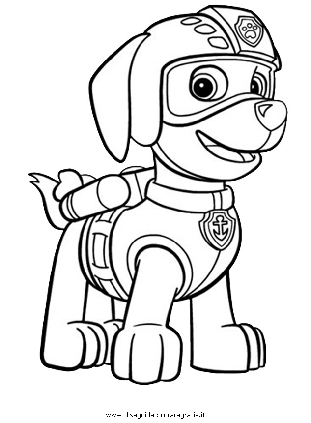 Coloring Pages Of Paw Patrol : Free coloring pages of nick jr paw patrol