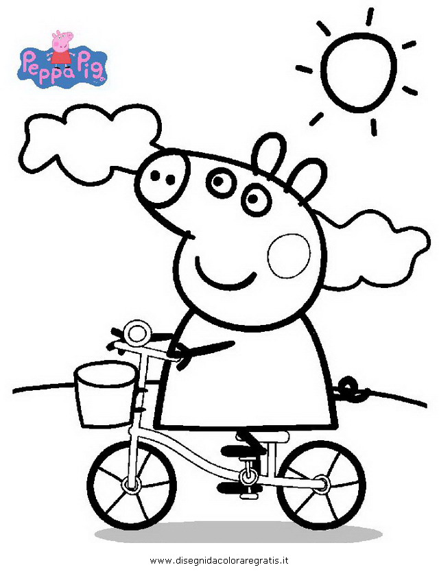 Disegni Da Colorare Peppa Pig Formato A4
