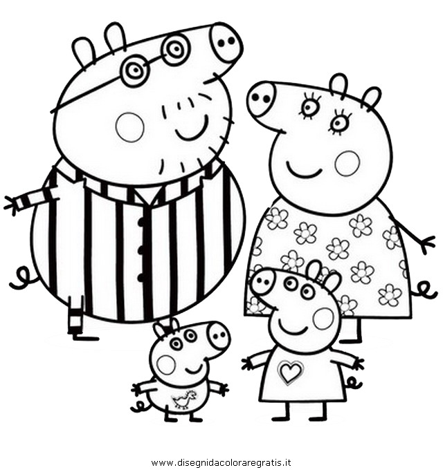 peppa pig rebecca rabbit colouring pages page 2