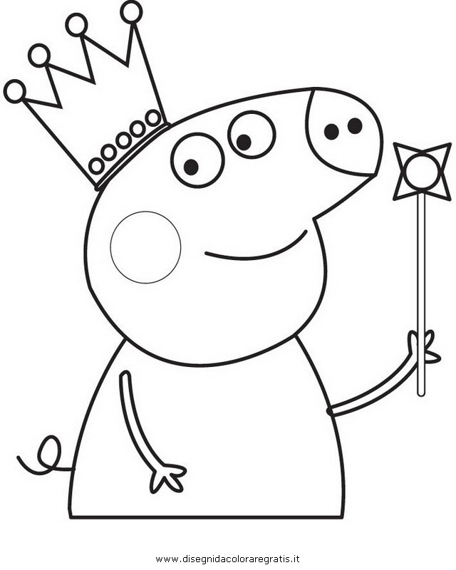 Peppa Pig Dentist Colouring Pages
