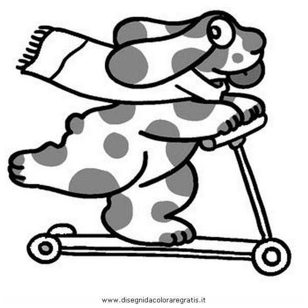 Disegno pimpa 33 personaggio cartone animato da colorare for Pimpa da colorare