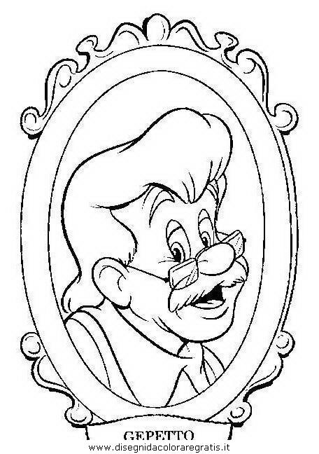 Disegno Pinocchio 27 Personaggio Cartone Animato Da Colorare