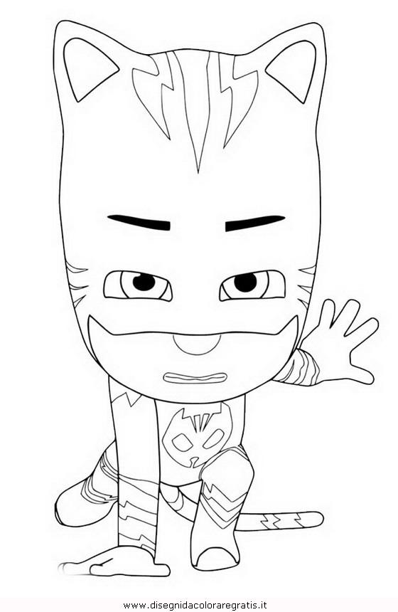 Disegno pjmask 06 personaggio cartone animato da colorare for Pjmask da colorare