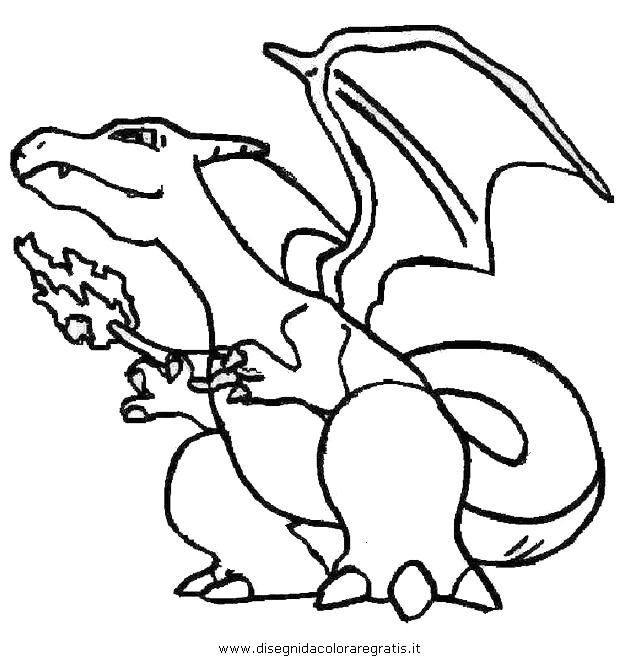 pokemon charizard colouring pages page 3