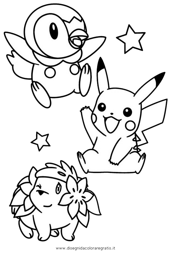 piplup cute coloring pages | Piplup Coloring Pages Coloring Pages