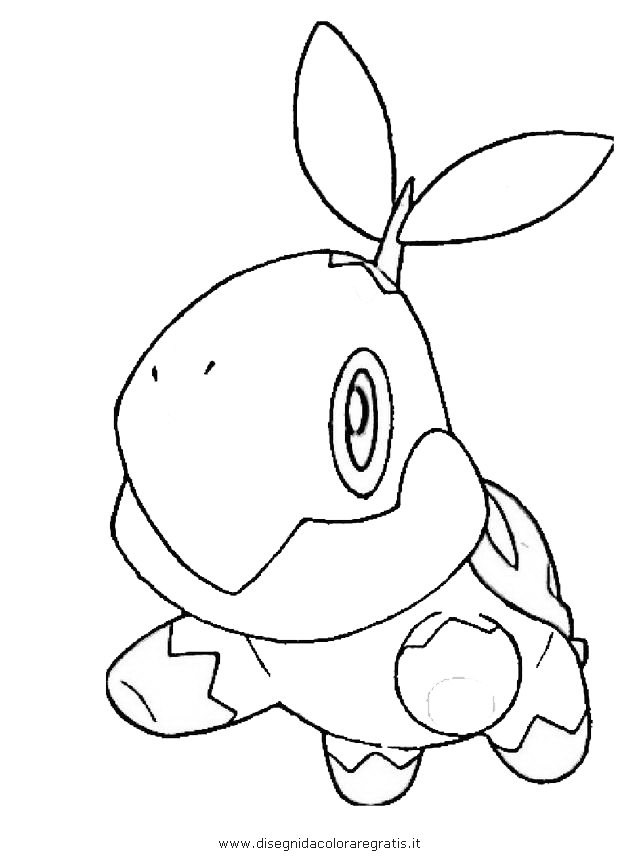 Peninsula Coloring Pages Turtwig Coloring Pages