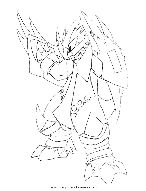 pokemon empoleon coloring pages - photo#9