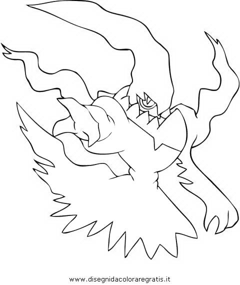 Disegni Da Colorare Pokemon Darkrai.Disegno Pokemon Darkrai 5 Personaggio Cartone Animato Da Colorare