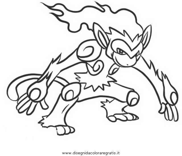 Pokemon Infernape Coloring Pages Images Pokemon Images Infernape Coloring Pages