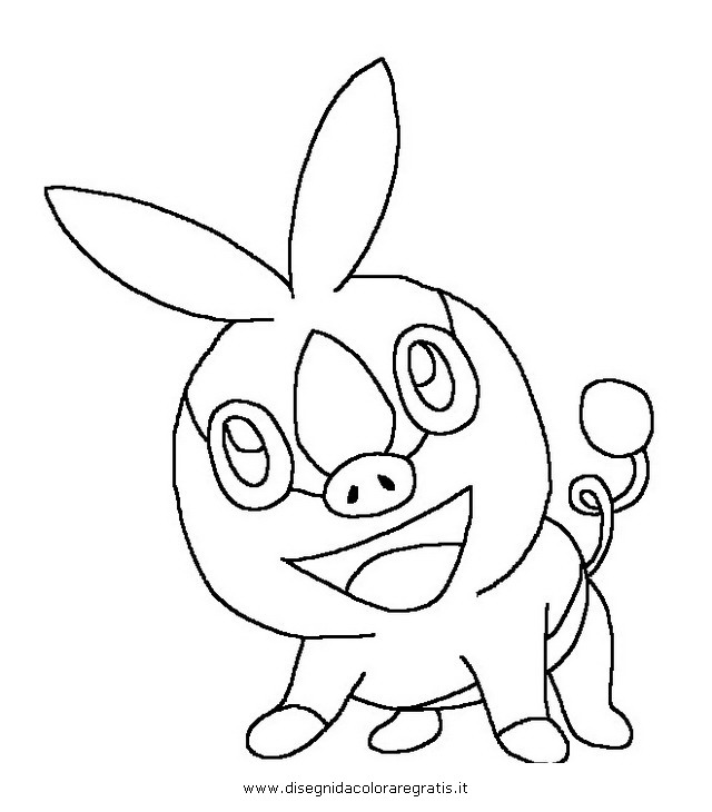pokemon coloring pages servine pictures - photo#27