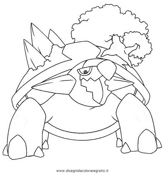 torterra pokemon coloring pages - photo#2