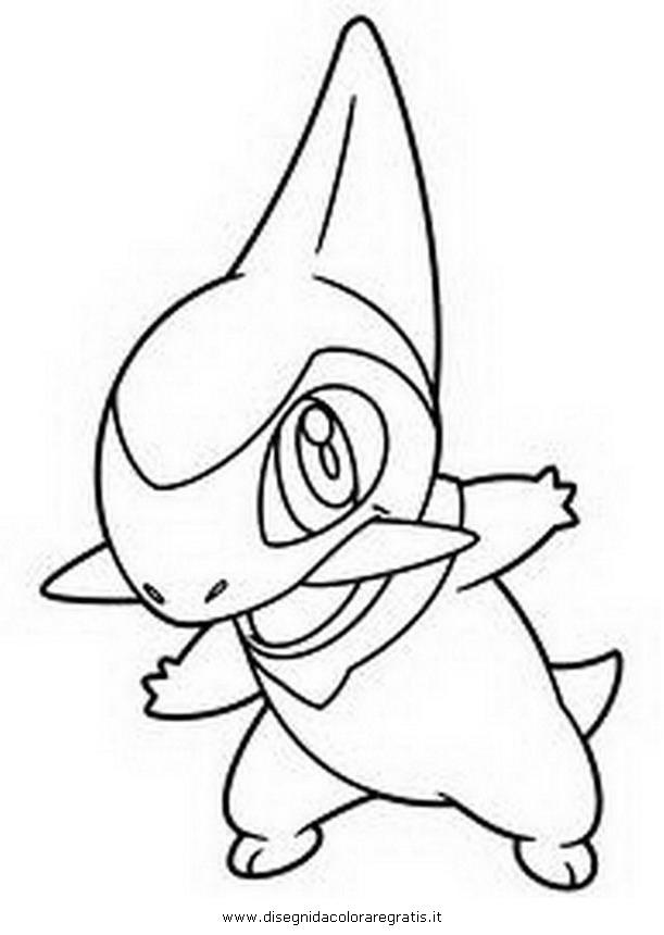Disegno Axew0 Personaggio Cartone Animato Da Colorare
