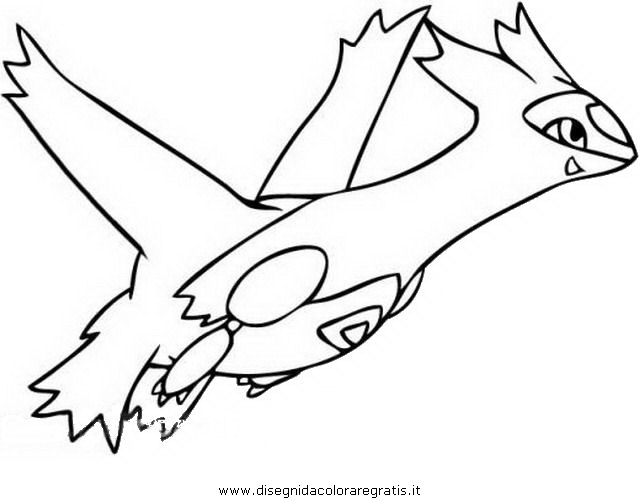 latias and latios coloring pages - photo#1