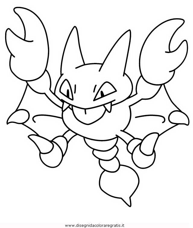Disegno pokemon gligar personaggio cartone animato da