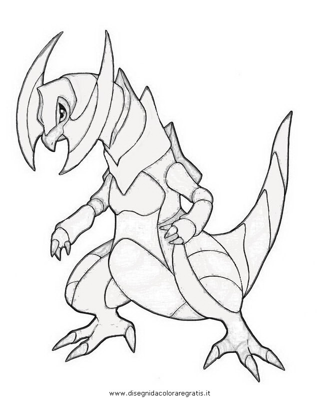 Haxorus Coloring Pages Coloring