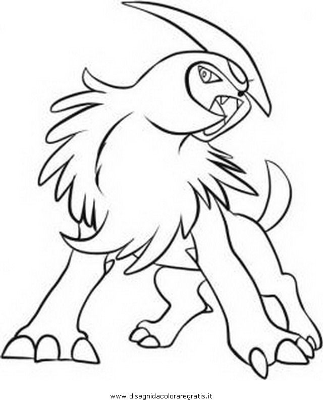 coloring pages absol - photo#12