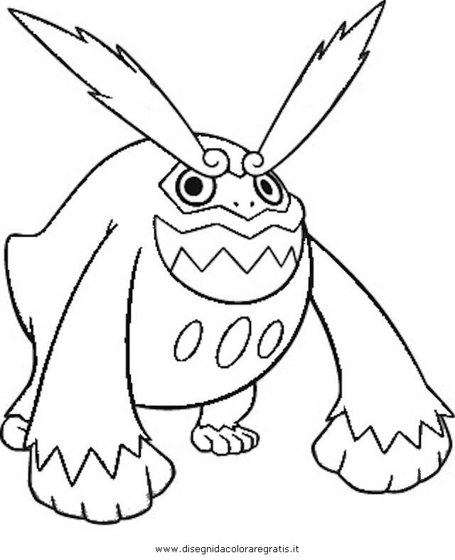 Pokemon Darmanitan Coloring Pages Images