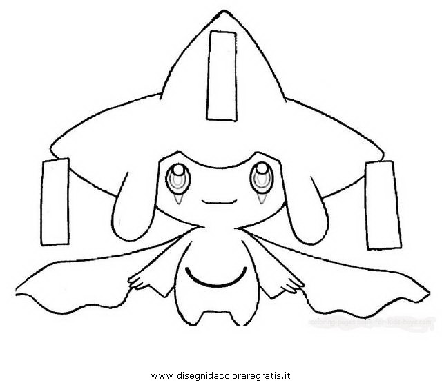 pokemon celebi coloring pages - photo#17